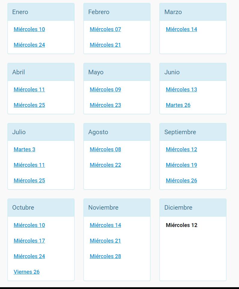 Cronograma Lecaps 2018