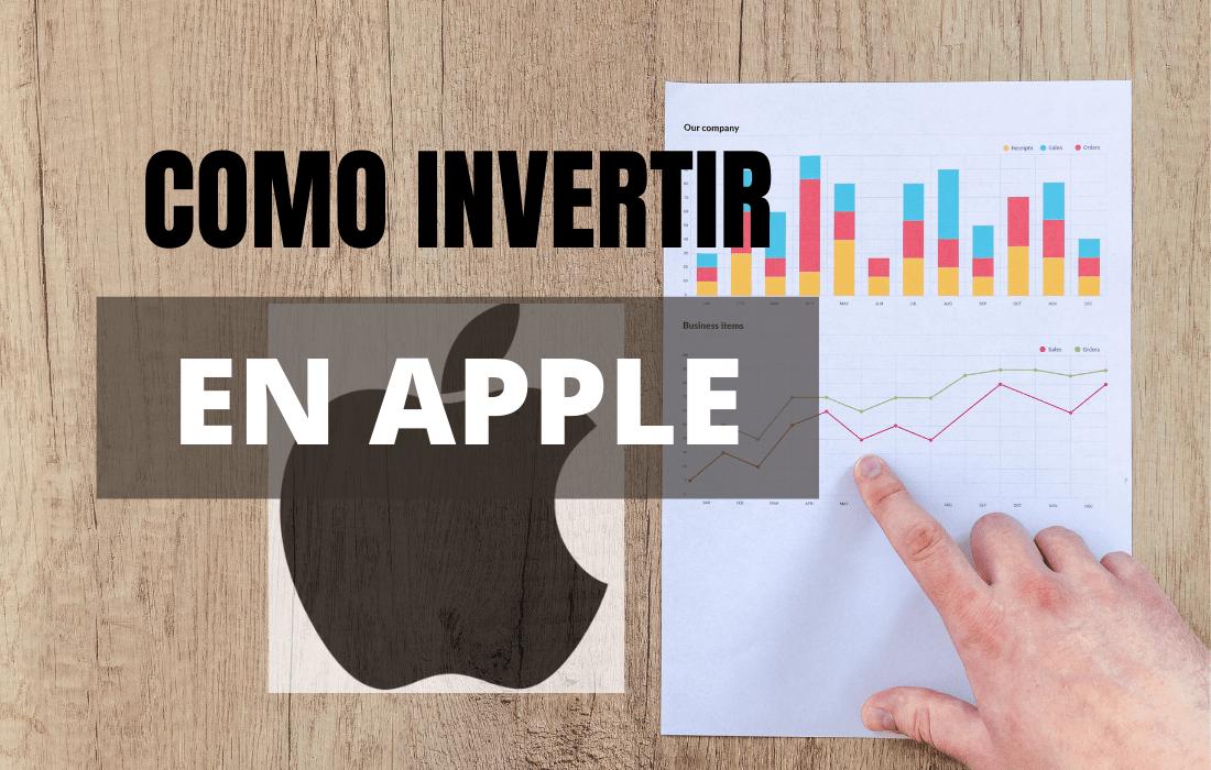 Cómo invertir en Apple